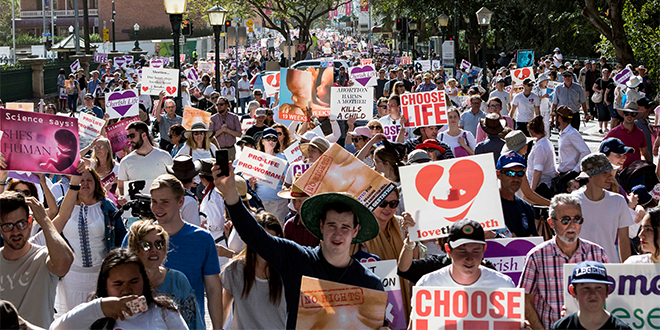 March for LIfe crowds
