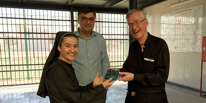 Brisbane priest witnesses the Church and people of Iraq rebuilding after ISIS devastated their country