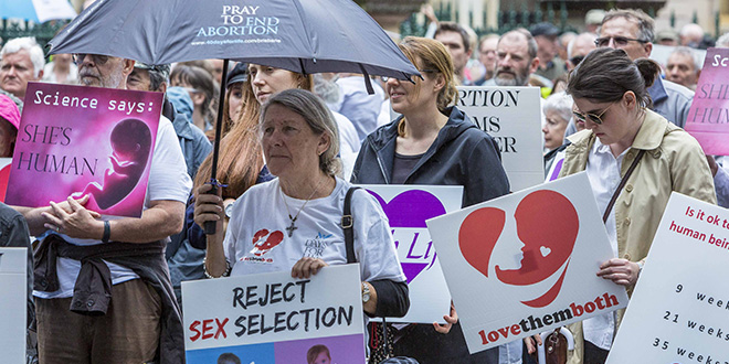 Queensland abortion legislation is 'a horrible law, a total disregard for innocent human life'