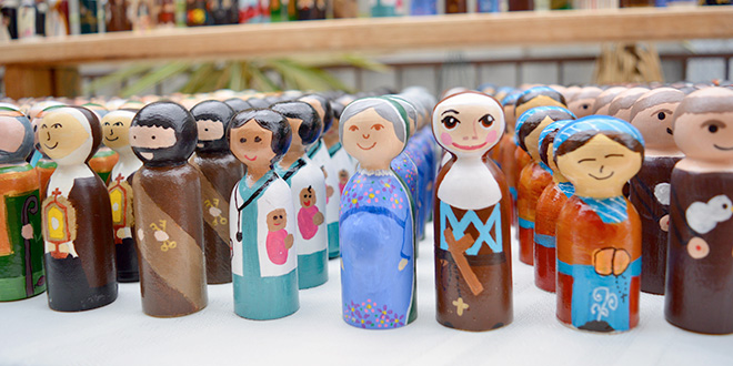Saint peg-doll exchange success –  first educators bringing the Gospel to life for their children