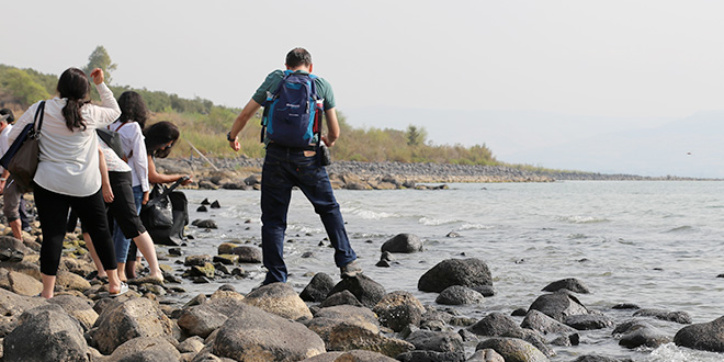 Troubled waters for holy site – the Sea of Galilee recedes to its lowest level in a century