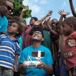 Lifesaving drugs delivered by drone in Vanuatu to help ease infant mortality rates