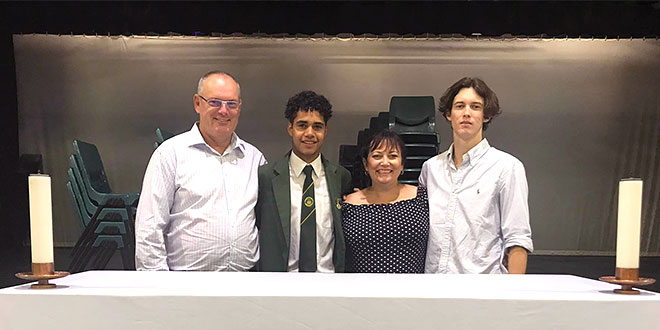 Indigenous schoolboy from Normanton joins alumni at Shorncliffe's St Patrick's College