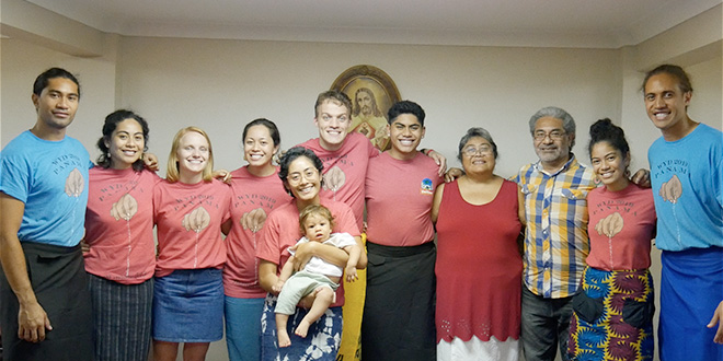 Brisbane group representing the 'unique and rich faith life' of Samoan culture at Panama WYD 2019