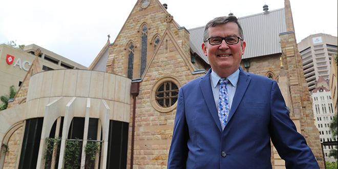 Canon lawyer becomes the first layperson to be appointed as Brisbane archdiocese chancellor