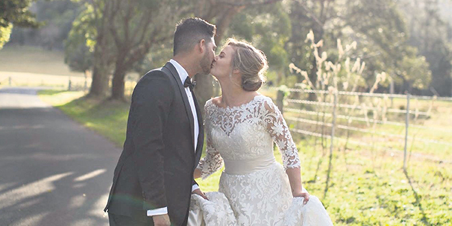 More wedding bliss: August 2018 held a special date for Pia Irwin and Arnaud (Arnie) Hurdoyal.