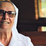Canossian Sister Rosa Vazzano explains why she takes off her shoes before she meets holy ground