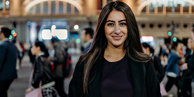 Shamiran Merkhaal fled Christian persecution in Iraq and discovered her dream here in Australia