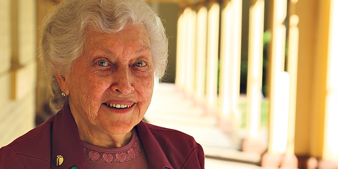 Sister Lorraine Victorsen has been busy building interfaith bridges and it's fortified her own faith