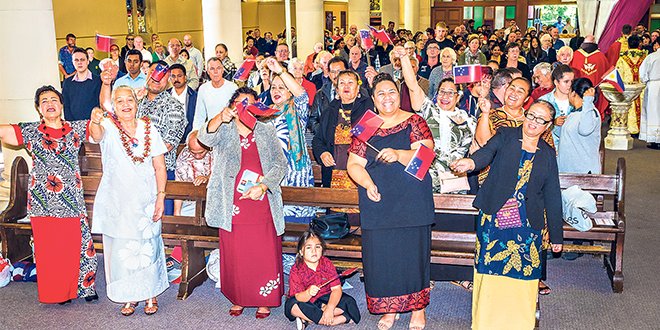 Ipswich Catholic community celebrating a colourful world of diversity united in one faith