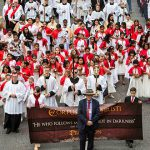 Brisbane Catholics take to the streets to celebrate the Real Presence on the Feast of Corpus Christi
