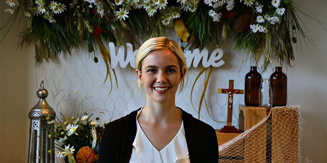 Sharing the Gospel – Jessica is helping those in need and witnessing to them both at home and overseas