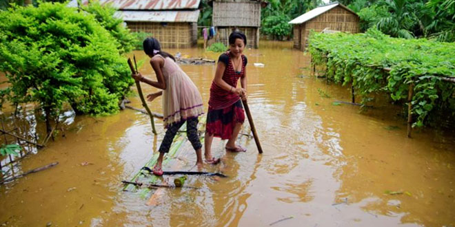 Three million children face starvation, disease and displacement from South Asia floods