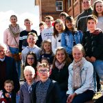Grateful for God's presence, Fr Brian Connolly celebrates golden jubilee with faithful and family