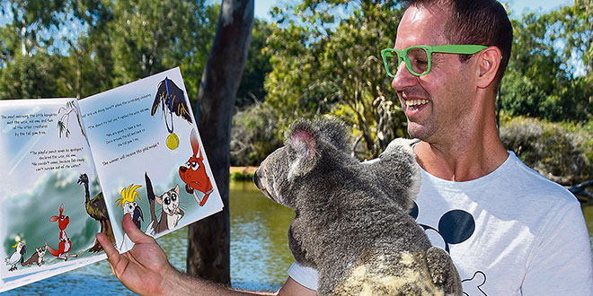 Townsville children's author Ian McIntosh trusts in God's plan and discusses his unique morning routine