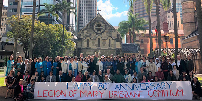 Legion of Mary active for 80 years in Queensland, saluting decades