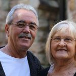 50 years married and still blossoming, Ray and Glenda are looking forward to every day to follow