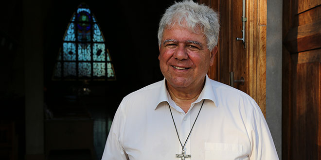 """Bishop Charles Gauci: """"My experience tells me many of the Aboriginal people I've been meeting with are amongst the most traumatised people I've ever met, and maybe even on this planet."""""""