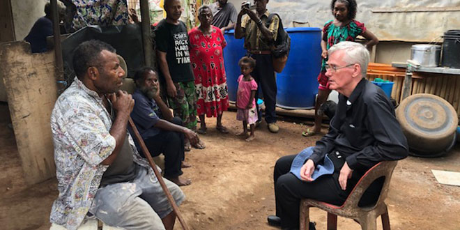 Brisbane priest urges more help for West Papuans in exile following visit to PNG