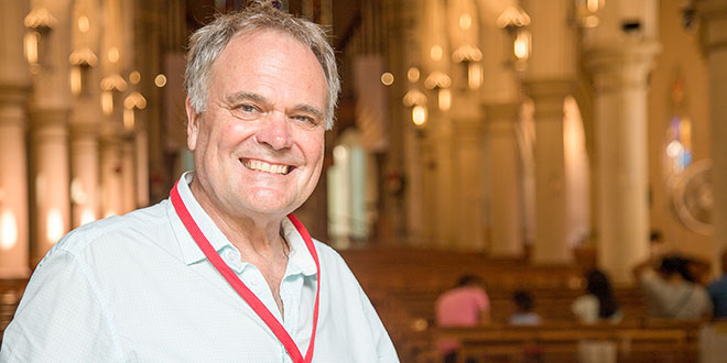 Cathedral guides are the face of the Church to thousands