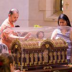 Relics of St Therese and Sts Louis and Zelie Martin bringing graces to Brisbane