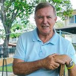 Mount Isa parish priest Fr Mick Lowcock has been named a Queensland Great on Queensland Day 2020