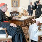 Cardinal George Pell meets with Pope Francis amid Vatican financial scandal