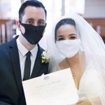 Newlyweds trust in God on their disrupted wedding day