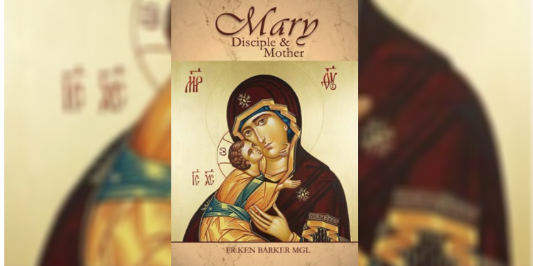 """Marian book: Fr Barker said he realised """"people are keen to have something that's easy to read on the Blessed Virgin Mary, and something that relates to their lives"""", and that was what he was aiming for in writing Mary, Disciple and Mother."""