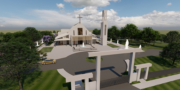 New church: Our Lady of Vietnamese Martyrs church is set to start construction in June.