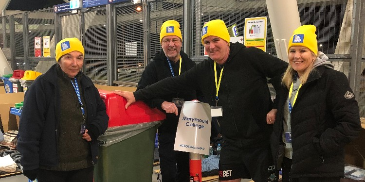 Community effort: Marymount College students, staff and parents raised $16,500 for homelessness on the Gold Coast.