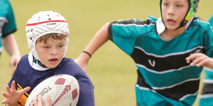 Love of sport: The carnival aims to encourage participation in professional and high-quality sporting experiences for primary-aged children in Catholic schools, which have a fine history of contributing to Australian rugby teams over the years.