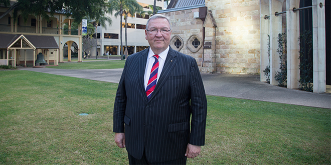 """Justice Daubney: """"ACU's core commitments to the pursuit of knowledge, the dignity of the human person and the common good resonate for all Australians."""""""
