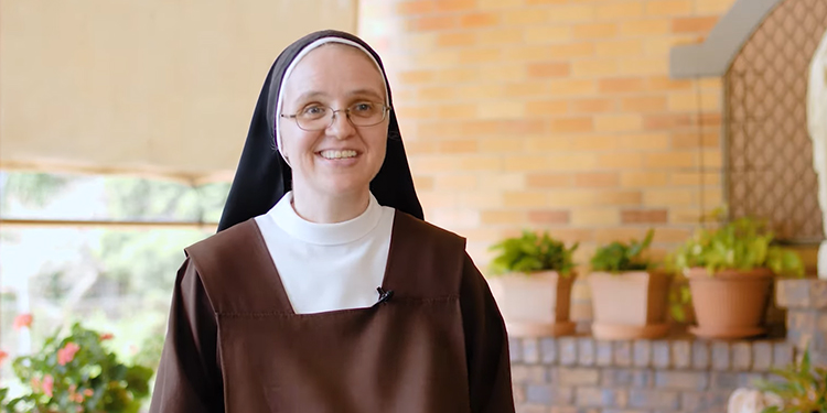 """Sr Catherine Ann: """"I struggled with that until I realised that I wasn't alone, that Jesus was always with me and I just had to sit with that for long enough to feel the presence of God."""""""